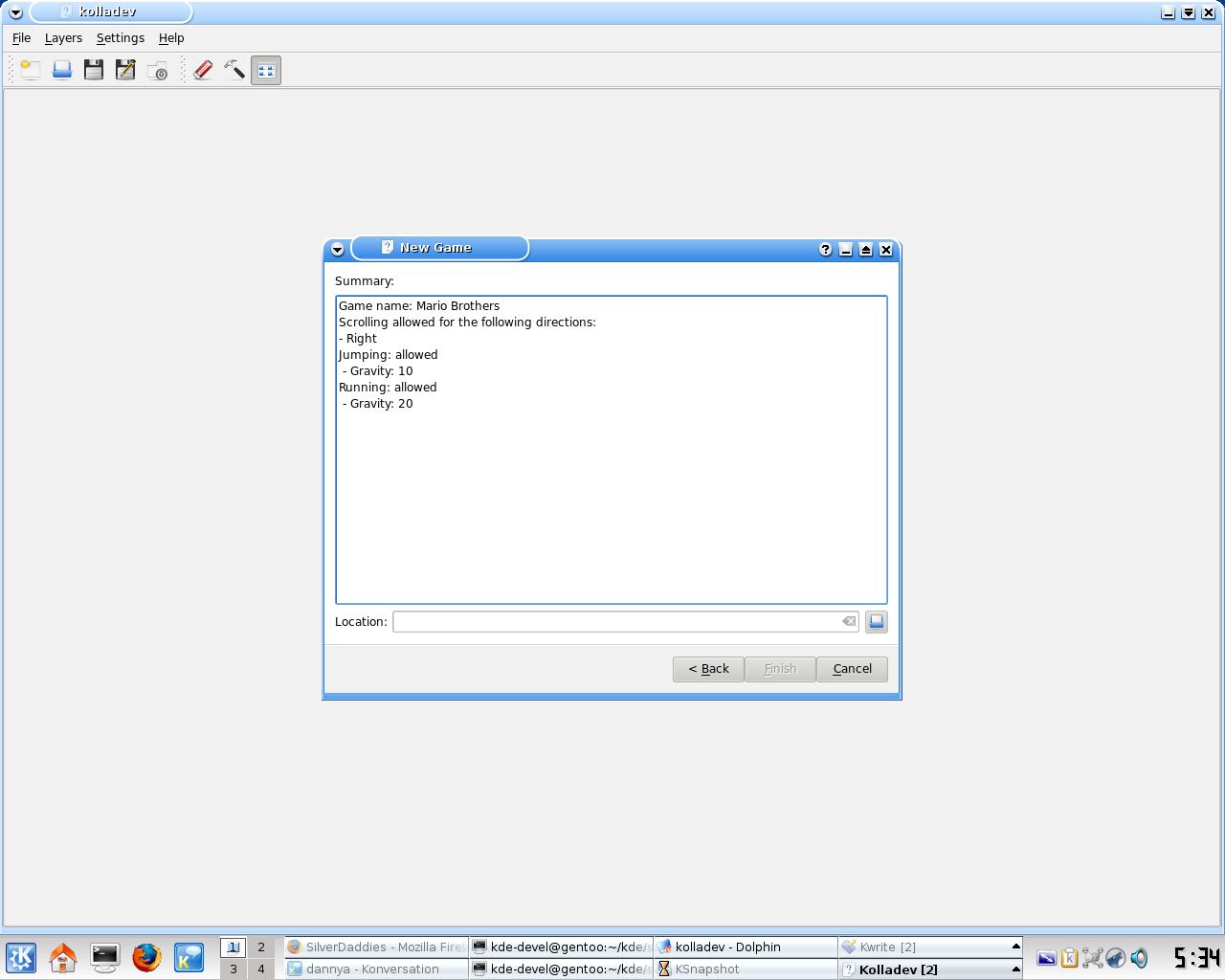 KDE Commit-Digest - 8th July 2007
