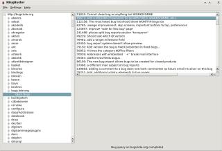 KBugBuster and bugs.kde.org/