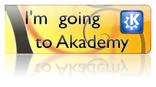 I'm going to Akademy 2008