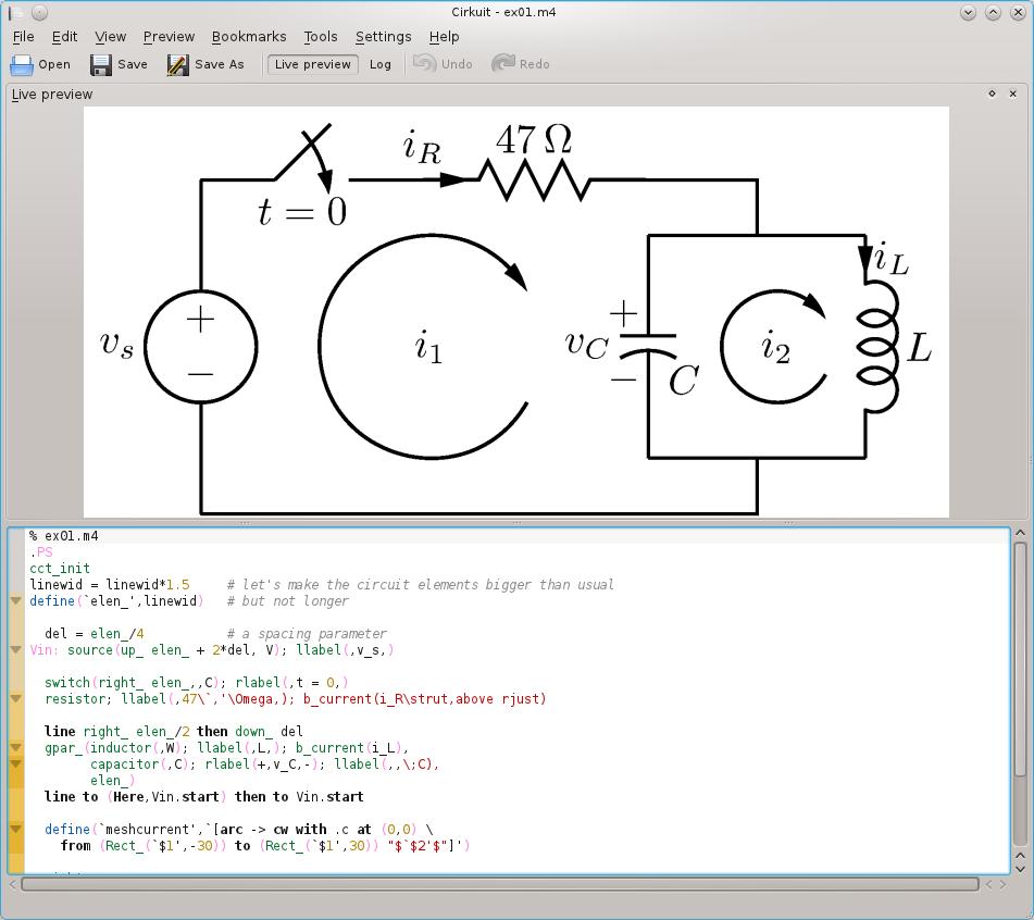 Kde Commit Digest 16th January 2011 Circuit Wizard Screenshot Screenshots